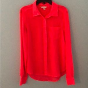 American Eagle sheer blouse